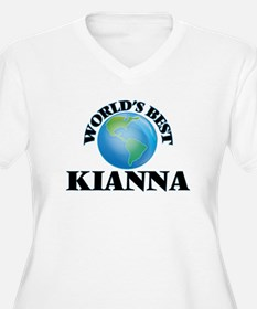 World's Best Kianna Plus Size T-Shirt