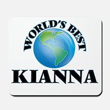 World's Best Kianna Mousepad