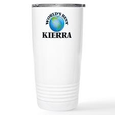 World's Best Kierra Travel Mug