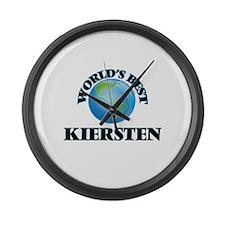 World's Best Kiersten Large Wall Clock