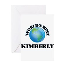 World's Best Kimberly Greeting Cards