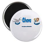 SHALOM AHAVA Magnet