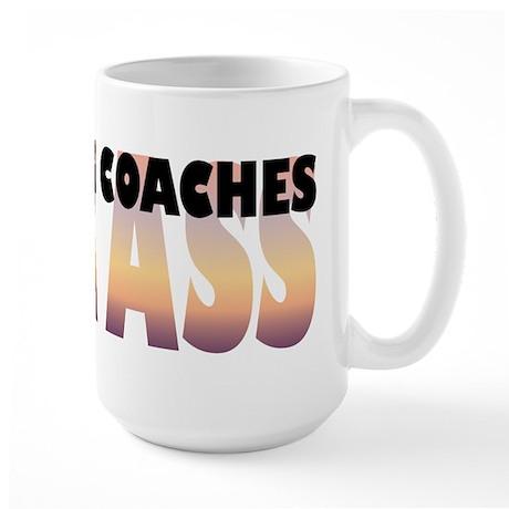 Swimming Coaches Kick Ass Large Mug