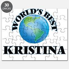 World's Best Kristina Puzzle