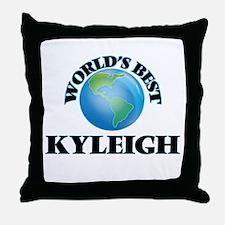 World's Best Kyleigh Throw Pillow