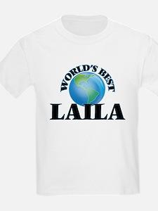 World's Best Laila T-Shirt