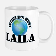 World's Best Laila Mugs