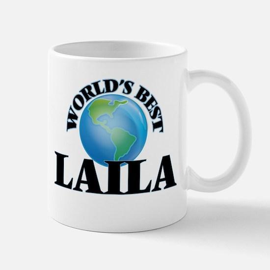 World's Best Laila Mugs