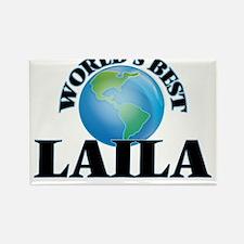 World's Best Laila Magnets