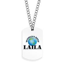 World's Best Laila Dog Tags