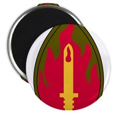 63th Infantry Regiment Military Patch.psd Magnets