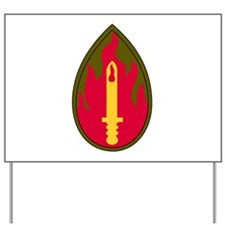 63th Infantry Regiment Military Patch.ps Yard Sign