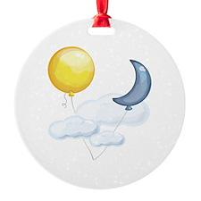 Balloon In Sky Ornament