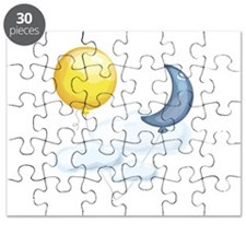 Balloon In Sky Puzzle
