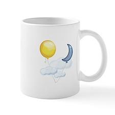 Balloon In Sky Mugs