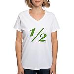 Better 1/2 Women's V-Neck T-Shirt