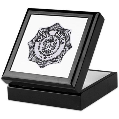 Maine State Police Keepsake Box