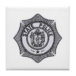 Maine State Police Tile Coaster