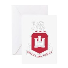113th Army Engineer Battalion Milit Greeting Cards