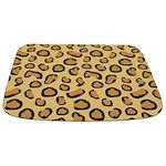 Leopard Spots Animal Skin Bathmat