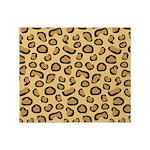 Leopard Spots Animal Skin Throw Blanket