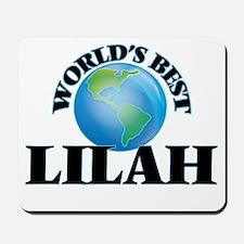World's Best Lilah Mousepad