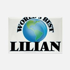 World's Best Lilian Magnets