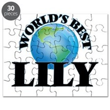 World's Best Lily Puzzle
