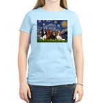Starry / 4 Cavaliers Women's Light T-Shirt