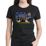Starry / 4 Cavaliers Women's Dark T-Shirt