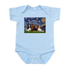Starry / 4 Cavaliers Infant Bodysuit