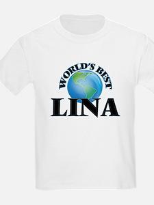 World's Best Lina T-Shirt