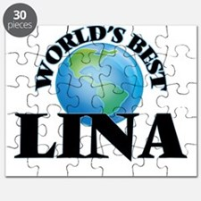 World's Best Lina Puzzle