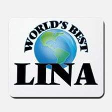 World's Best Lina Mousepad