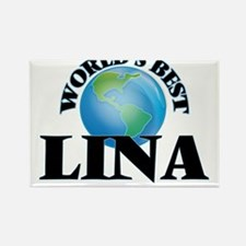 World's Best Lina Magnets