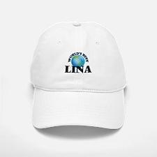 World's Best Lina Baseball Baseball Cap