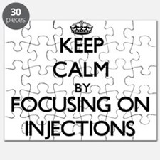 Keep Calm by focusing on Injections Puzzle