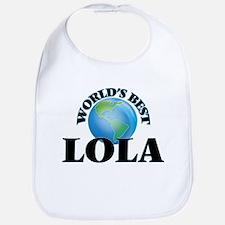 World's Best Lola Bib