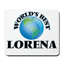 World's Best Lorena Mousepad