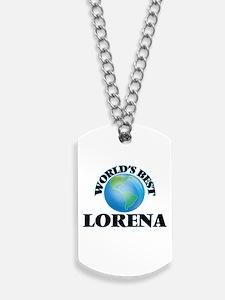 World's Best Lorena Dog Tags