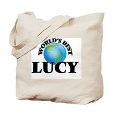 World's Best Lucy Tote Bag