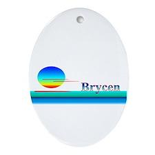 Brycen Oval Ornament