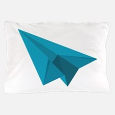 Paper Airplane Pillow Case