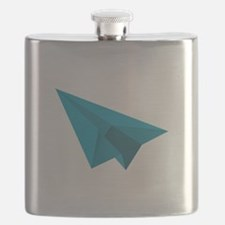 Paper Airplane Flask
