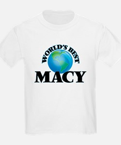 World's Best Macy T-Shirt