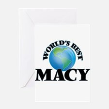 World's Best Macy Greeting Cards
