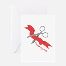 Grand Opening Greeting Cards