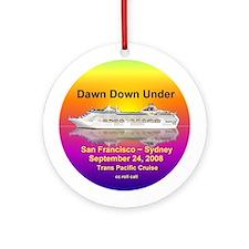 Dawn Down Under 2008 Ornament (Round)