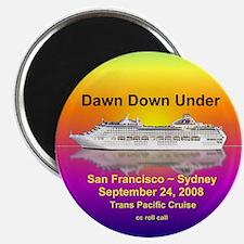 Dawn Down Under 2008 Magnet