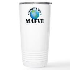 World's Best Maeve Travel Coffee Mug